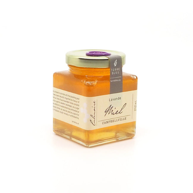 Terre Bleu Lavender Farm Honey 212 mL