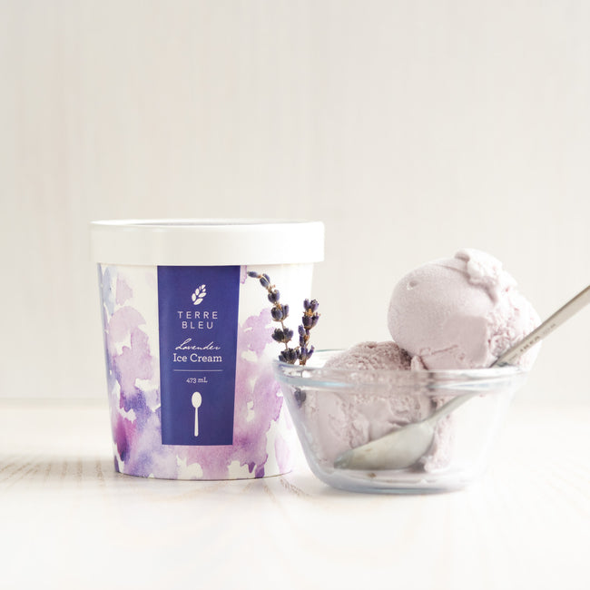 Lavender Ice Cream Pint