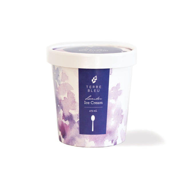 Lavender Ice Cream Pint - Farm Pick Up Only
