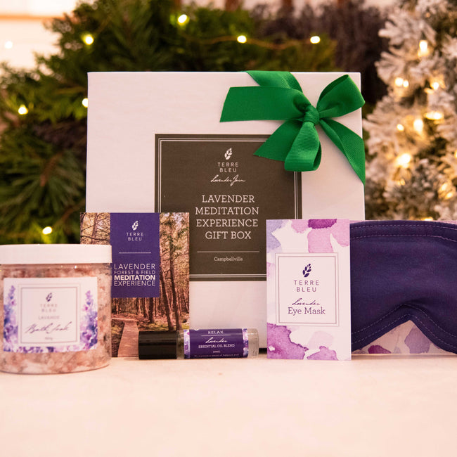 Lavender Meditation Experience Gift Box