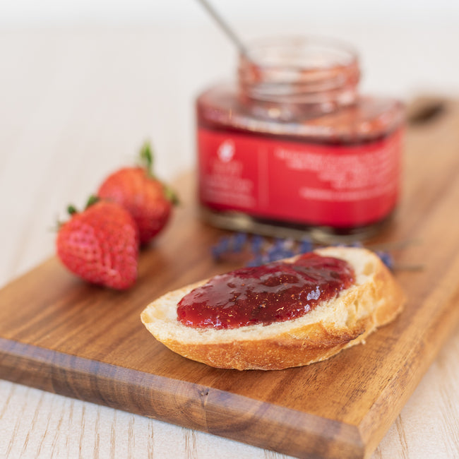 Lavender Strawberry Jam