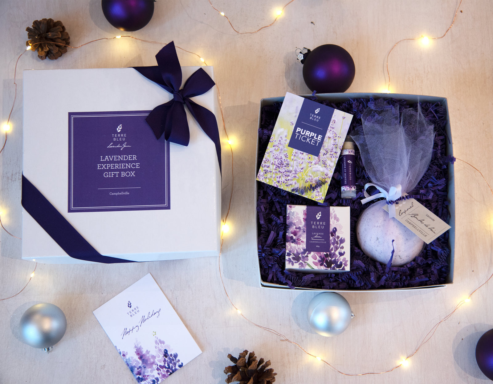 Lavender Experience Gift Box