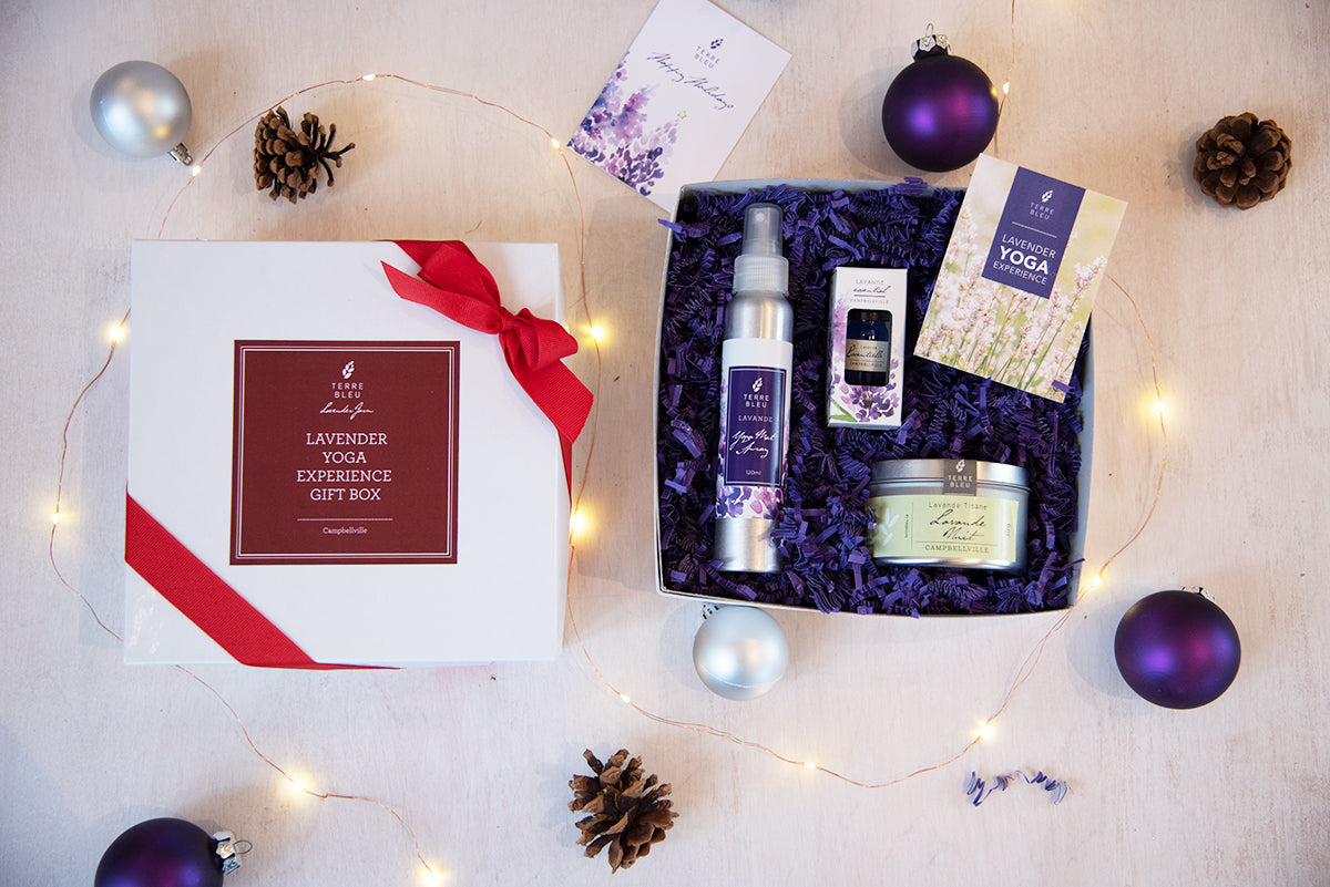 Lavender Yoga Experience Gift Box