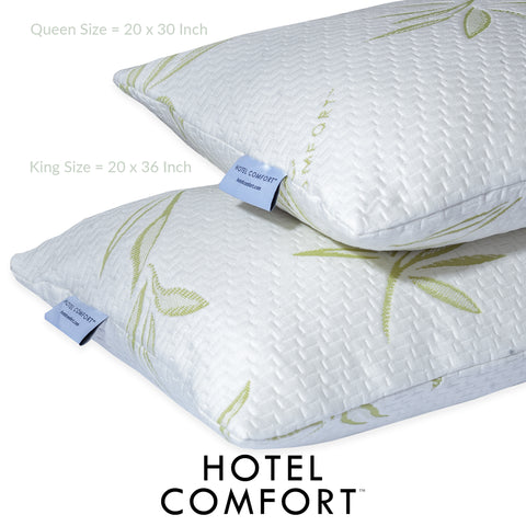 Image of Hotel Comfort Prestige Adjustable Bamboo Memory Foam Pillow