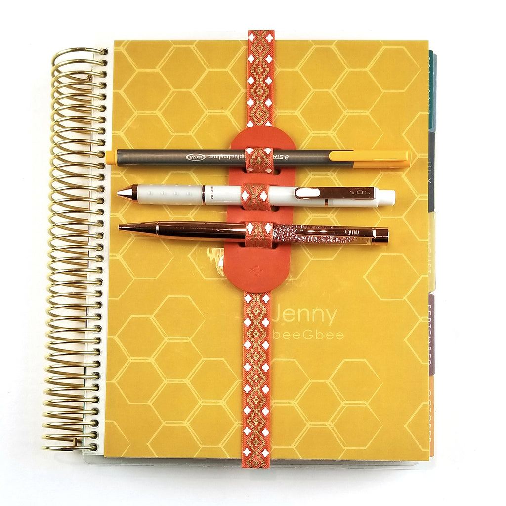 3 PEN PLANNER BAND | Sunset Orange
