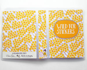 Bee Floral Album (custom text available) Collab with THE FAT CAT DESIGNS