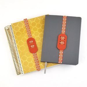 2 PEN PLANNER BAND | Sunset Orange