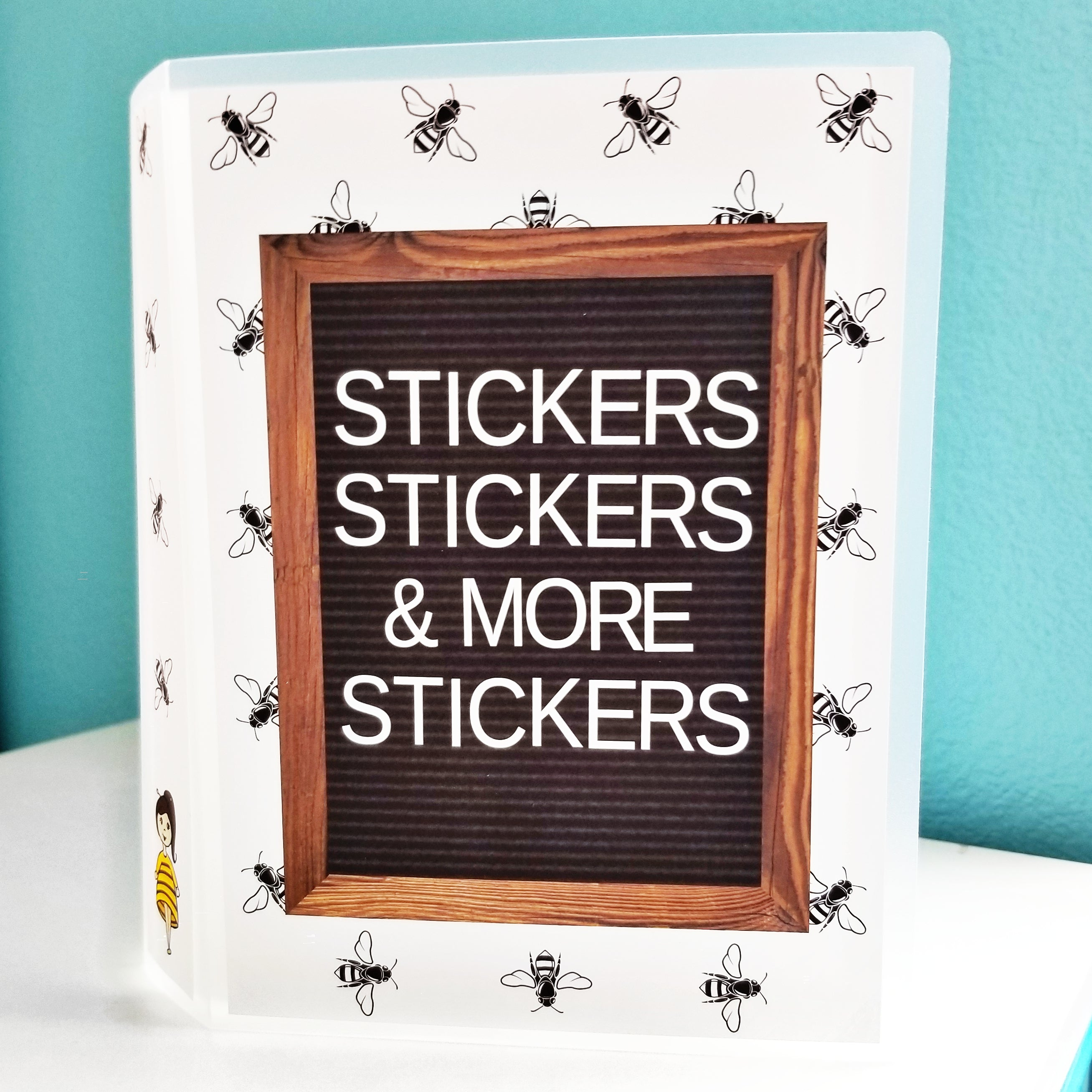 STICKERS, STICKERS, & MORE STICKERS Album