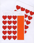HEART Month on 2 Pages STENCIL MASK
