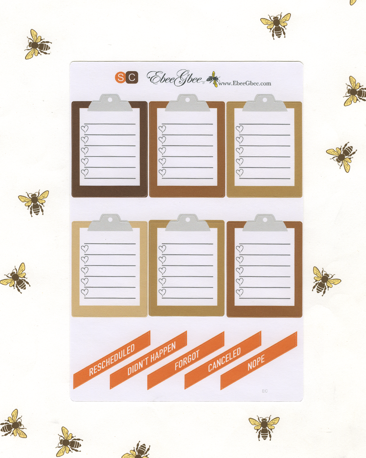 COZY COFFEE DELUXE Weekly Planner Sticker Set | SUNSET COFFEE