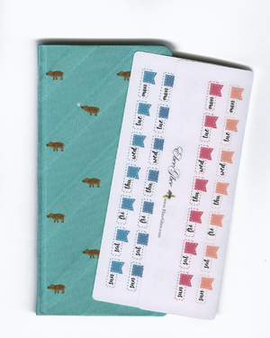HOBO DATE COVERS Hobonichi Weeks Set | BeeColorful