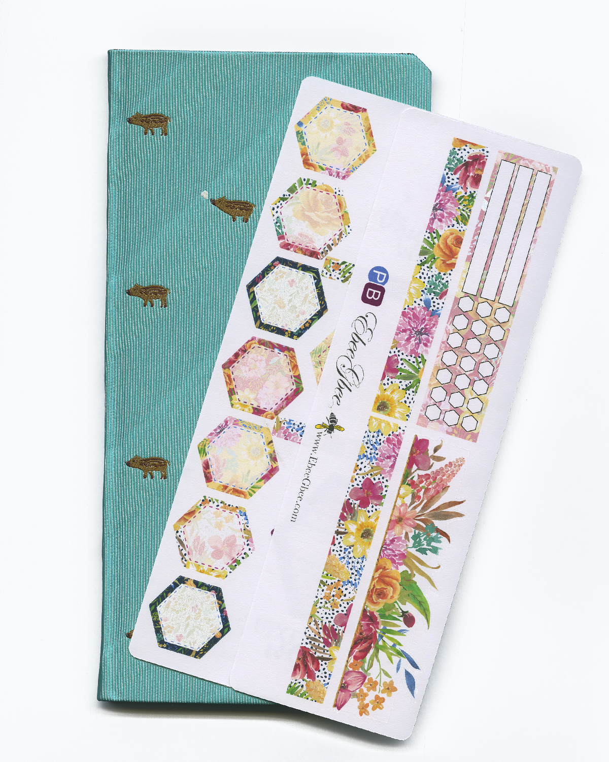 FLORAL HOBO Hobonichi Weeks Set | BeeColorful