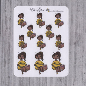 TRAVEL BeeBee Planner Stickers | NOW W/VARIATIONS