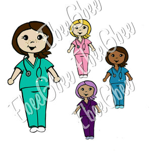 SCRUBS BeeBee Planner Stickers | NOW W/VARIATIONS