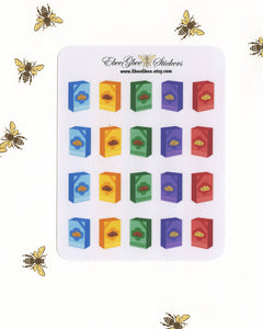 SCOUT GIRL COOKIES Planner Stickers
