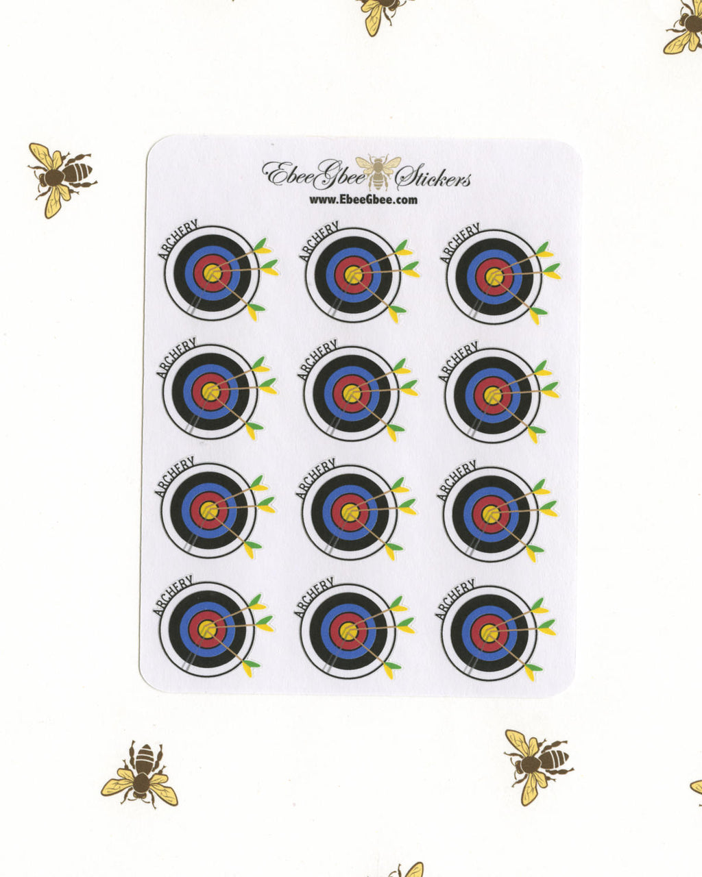 ARCHERY Planner Stickers