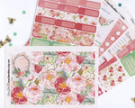 LOVE DELUXE Weekly Planner Sticker Set | Rose Mint
