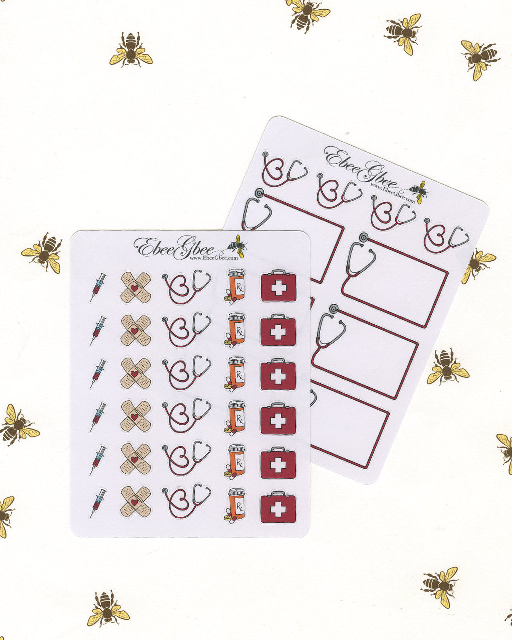 MEDICAL Planner Stickers