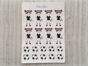 SOCCER Planner Stickers