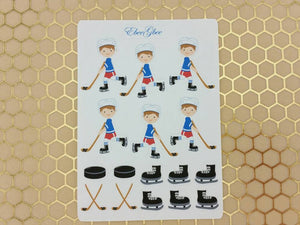 HOCKEY Planner Stickers