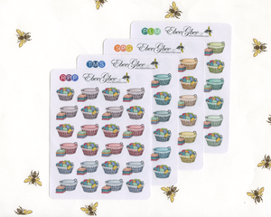 LAUNDRY Planner Stickers