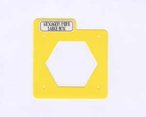 HEXAGON MINI Stencils