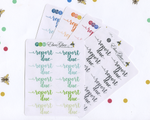 REPORT DUE Planner Stickers |  BeeColorful