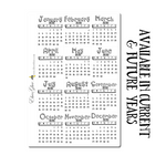 SKETCH MINI CALENDAR Planner Stickers