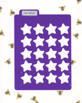 STAR MONTHLY LAYOUT STENCIL