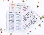 TEST Planner Stickers |  BeeColorful