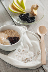 Pear, Prunes And Ginger Porridge - Little Mashies Reusable Pouches