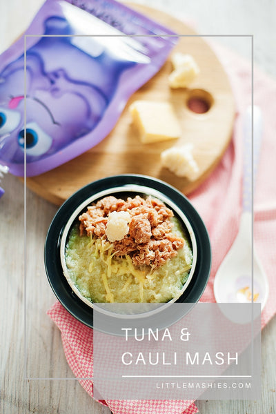 Tuna & Cauli Mash - Little Mashies Reusable Pouches