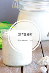 Little Mashies DIY Yoghurt