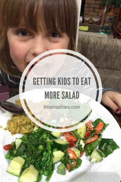 Little Mashies Getting kids to eat more salad