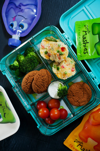 Little Mashies Kindy and School Lunch Box Ideas