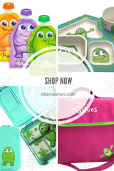 Shop Little Mashies reusable food pouches online