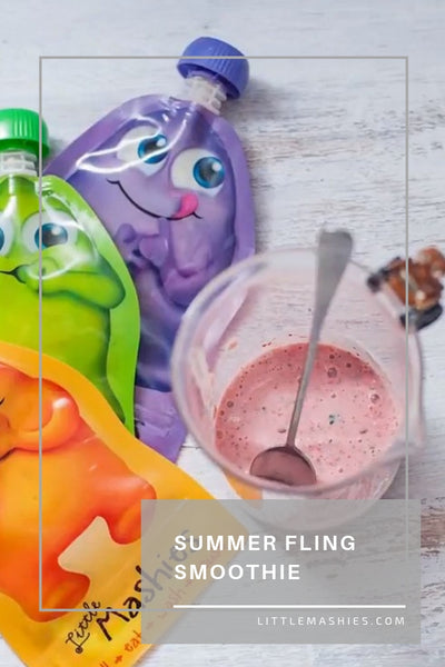 Summer Fling Smoothie - Little Mashies Reusable Pouches