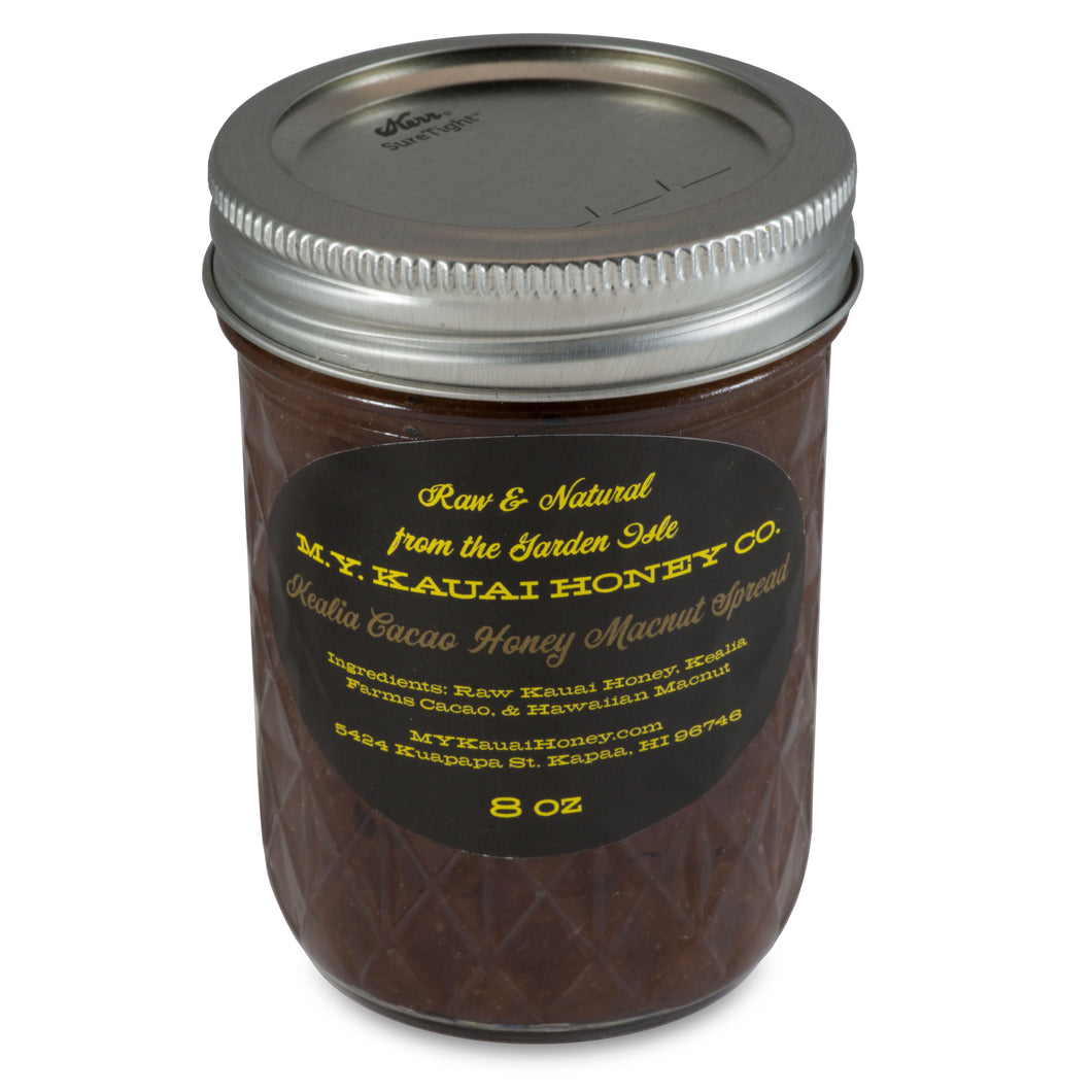 Kealia Cacao Honey Macnut Spread