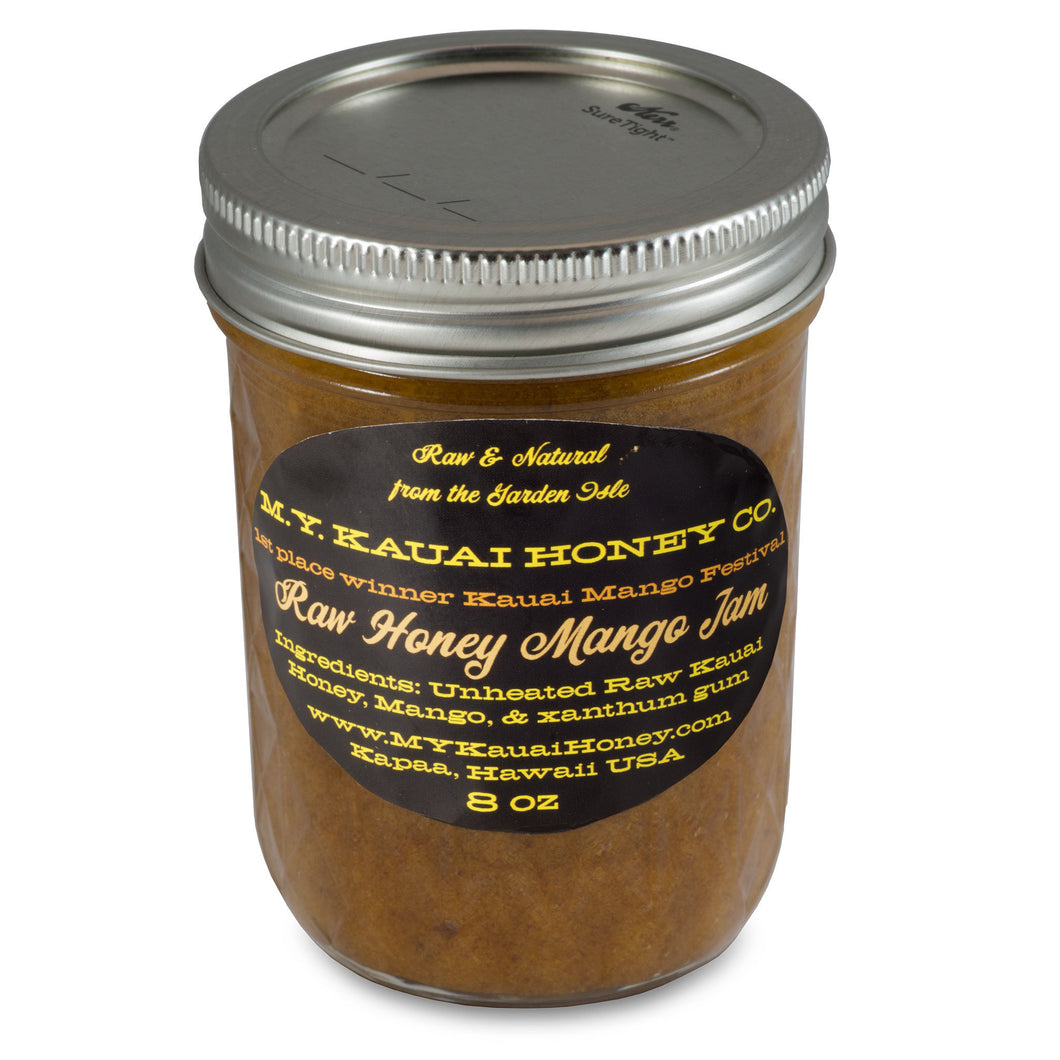 Raw Honey Mango Jam