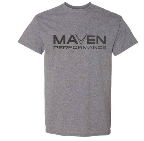 GRAY MAVEN PERFORMANCE T-SHIRT T09