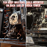 fox body mustang smart coil mount holley coil IGN-1A IGN1A
