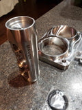 DUAL T6 STAINLESS BILLET FLANGE
