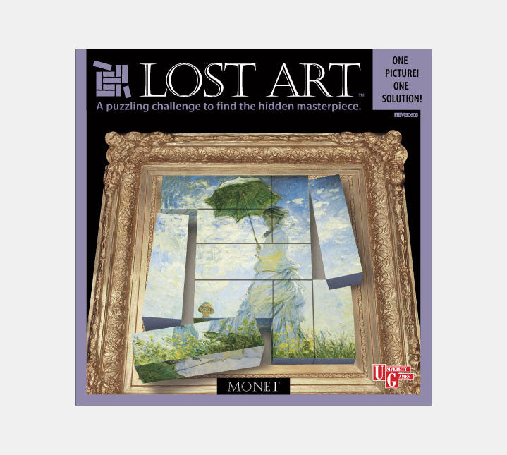 Lost Art - 3D Brain Teaser - Monet
