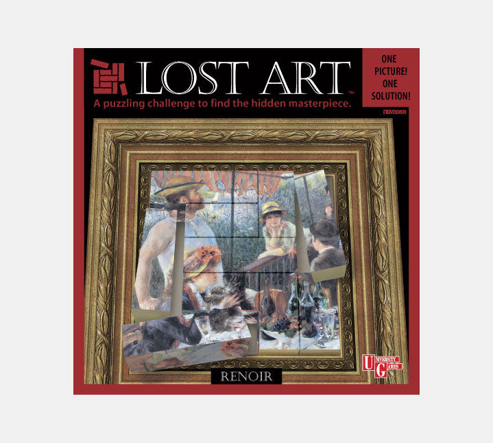 Lost Art - 3D Brain Teaser - Renoir