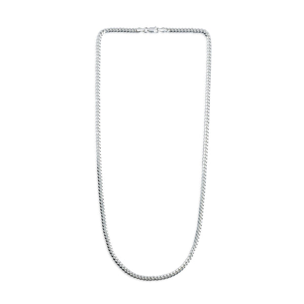 3.5mm Miami Curb Chain Necklace