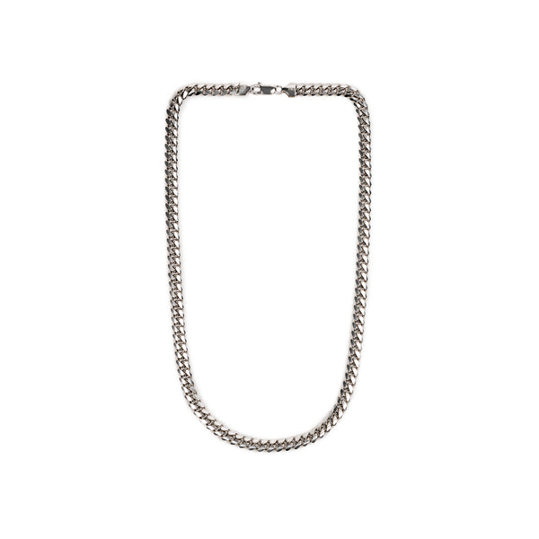 7mm Miami Curb Chain Necklace