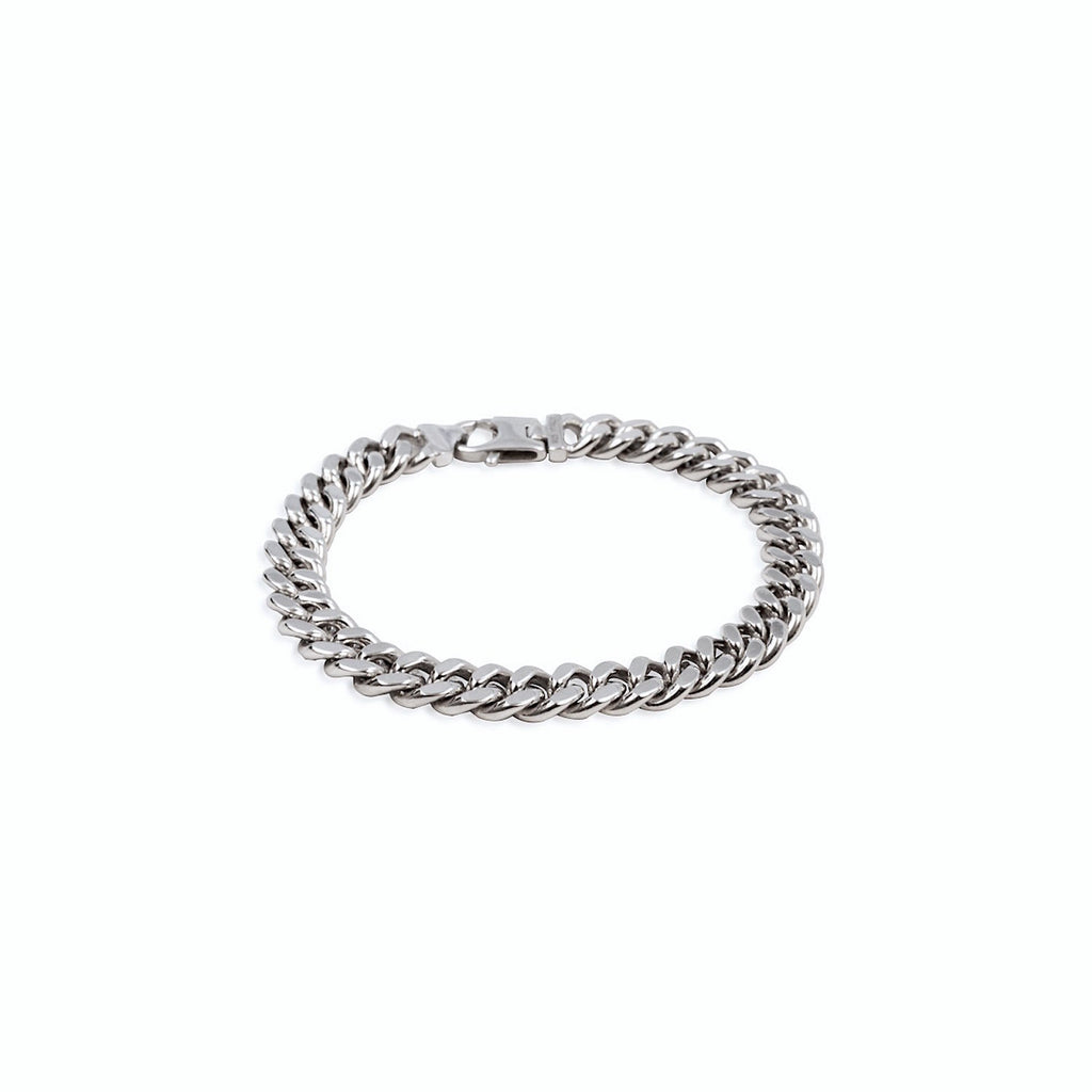 Diamond Cut Chain Bracelet 9.2mm