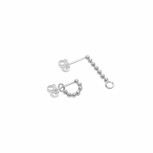 Beads Chain Earring w/ O-ring Hook