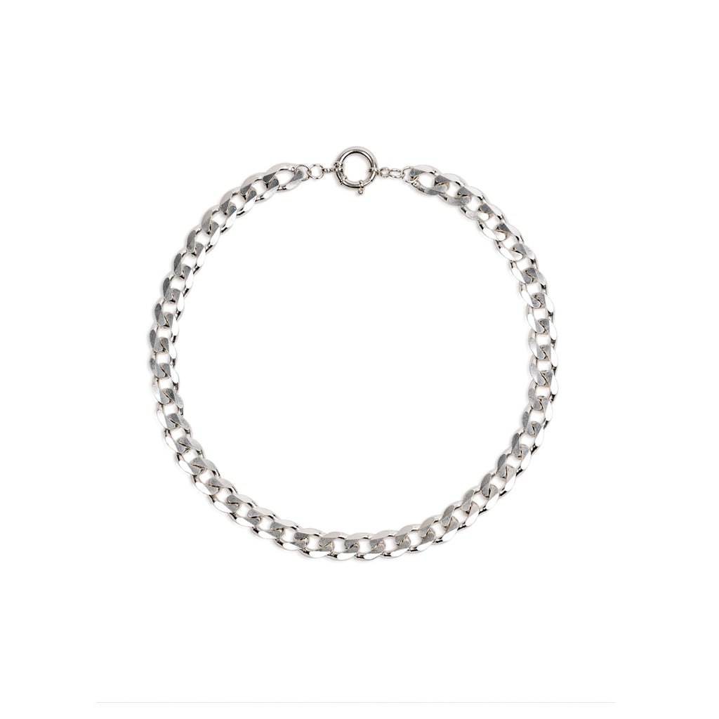 New Flat Curb Chain Necklace 10.3mm