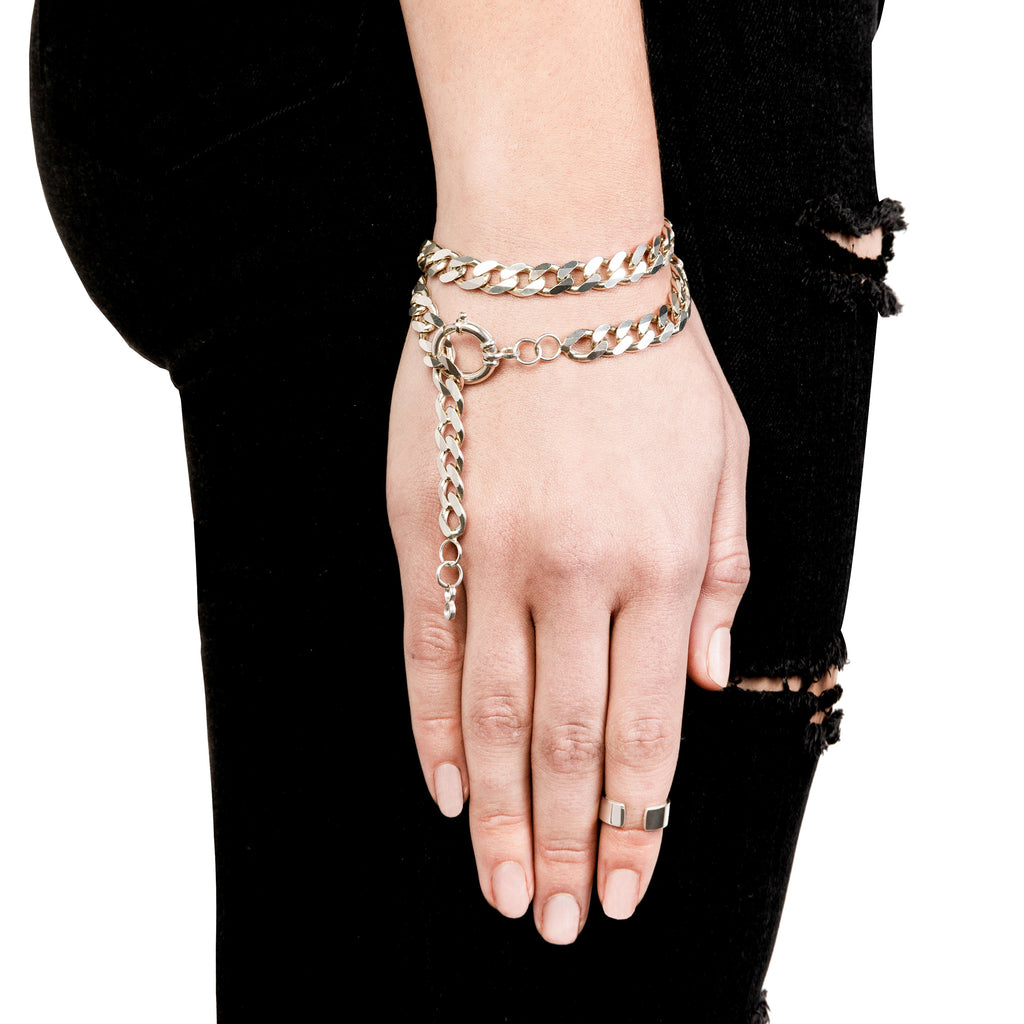 OPEN END KNUCKLE RING